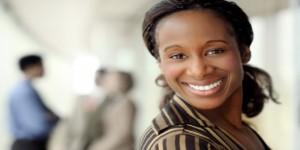 confident woman slider