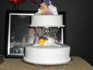Leonnie's engagement cake