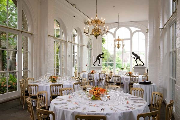 Orangery Gallery In Holland Park Wedding Venue Holland