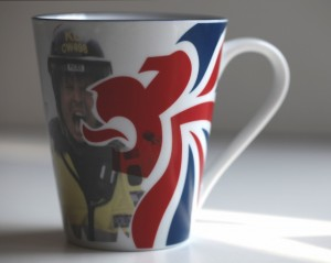 Carrie Reichardt Olympic mug 2