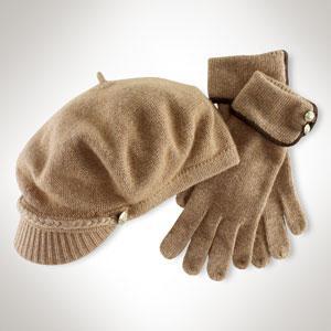 Ralph Lauren Cap and Glove Set