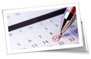Events Calendar Title