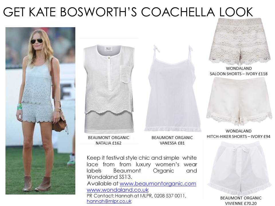 COACHELLA GET THE LOOKS