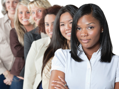 Careers City Diverse Women