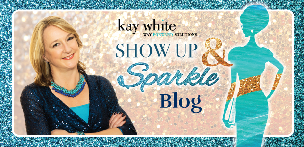 Show Up and Sparkle Blog