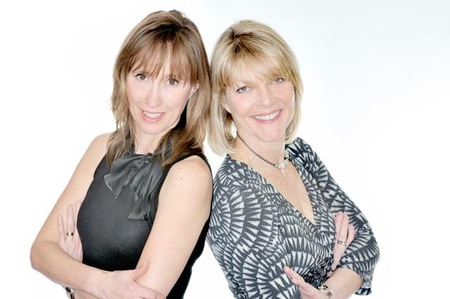 Portrait Karen Gill & Maxine Benson everywoman-403r-cropped