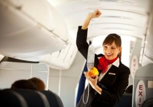 Stewardess oxygen mask