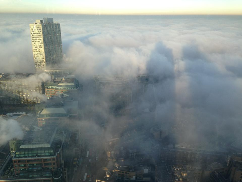 Amazing Foggy City Of London Shots Captured By Watc Member