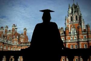 Graduated woman university