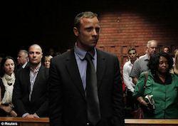 Oscar Pistorius-court room