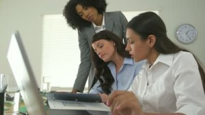 diverse-business-women-working-together