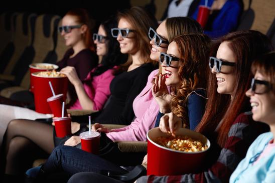 women at the cinema