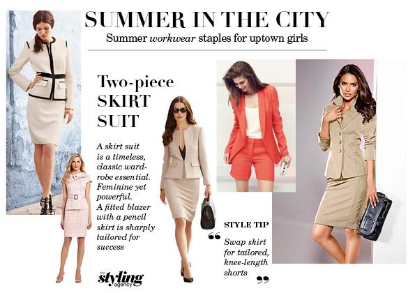 Summer 1 Skirt Suit WATC