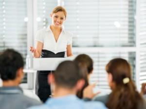 professional women Speaking