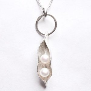 New pearls-in-pod necklace from The Twins Gift Company