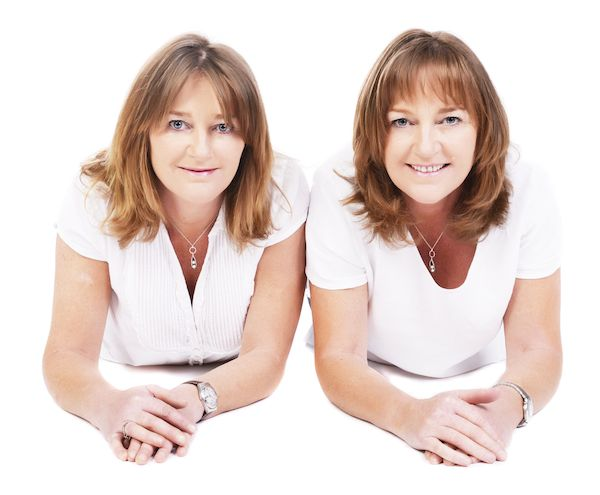 The Twins Gift Company founders - Lindsey and Karen respectively