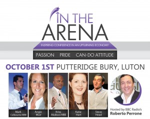 In The Arena @ Putteridge Bury, Conference Centre | United Kingdom
