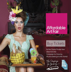 Affordable Art Fair 2014 & Campaign for Drawing @ Affordable Art Fair | London | United Kingdom