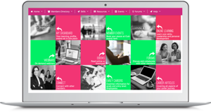 Careers Club-dashboard- online learning and events for women