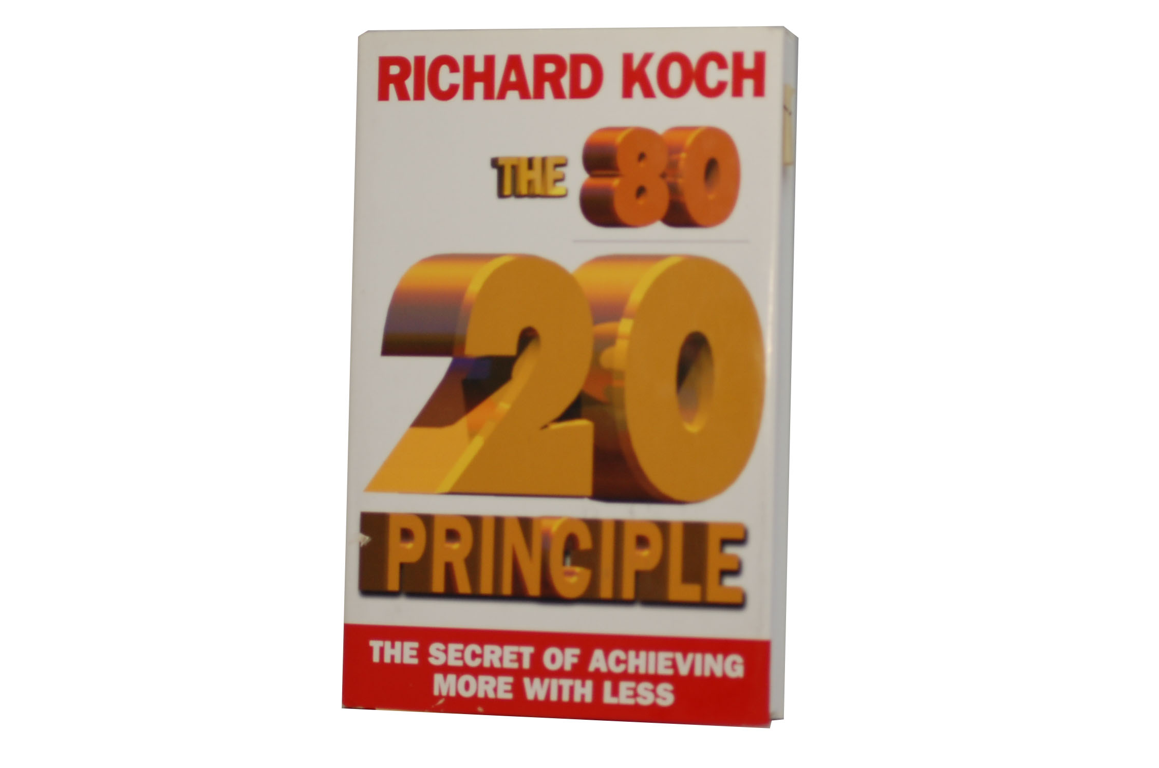 The 80 20 principle the secret of achieving more with less for Koch 80 20 principle