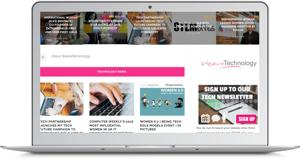 We are tech - women in IT homepage