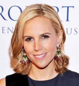 Tory Burch at awards ceremony