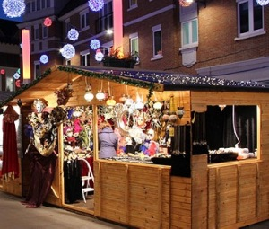 Traditional Christmas Market at Tate Modern London @ London | United Kingdom