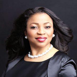 Folorunso Alakija with black background