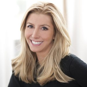 Sara Blakely smiling headshot