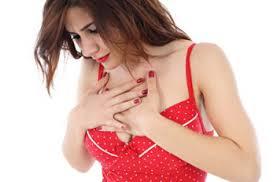 Woman-heart pain