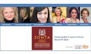 Zonta London II: Lean In Forum @ London | United Kingdom