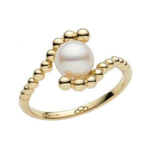 Effervescence White Mini Pearl Ring