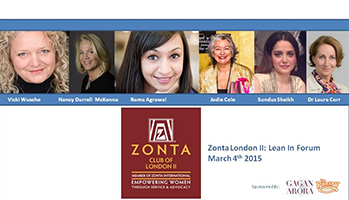 Zonta London II: Lean In Forum thumbnail image