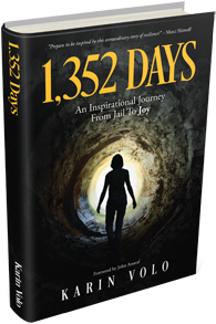 book cover - 1352 Days - Karin Volo