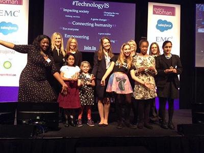 2015 everywoman in tech award winners