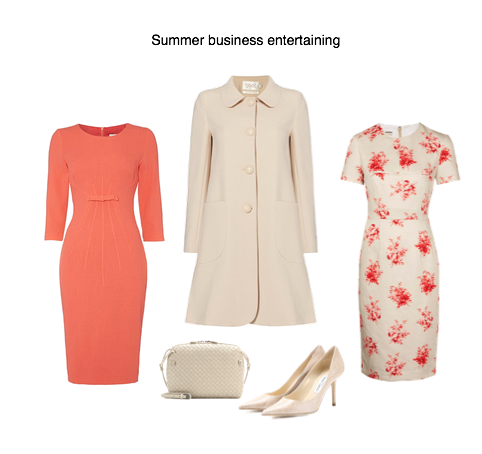 Capsule Wardrobe - summer business evening