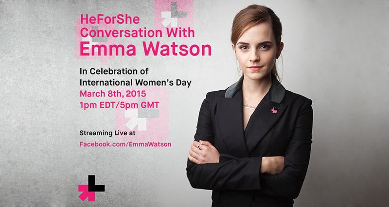 Emma Watson IWD event invite featured