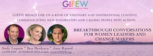 GIFEW: Empowering you to make the difference you've been yearning to make! @ central London