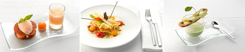 63 Degrees Restaurant-food collage