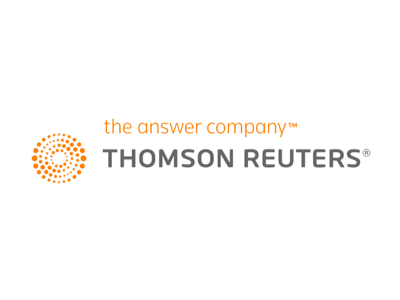 Thomson Reuters new logo featured