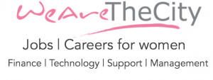 WeAreTheCity Jobs logo. Jobs and careers for women
