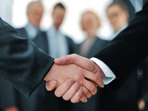 handshake, new business deal