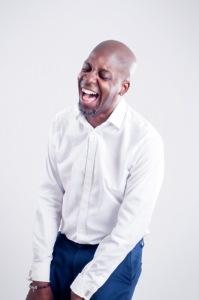 David McQueen laughing