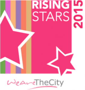 Rising Stars logo, rising star in law