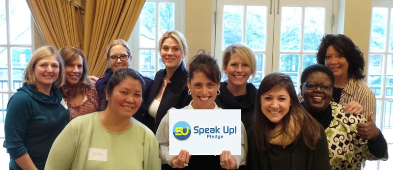 Speak-Up! Pledge
