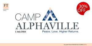 Camp Alphaville - PEACE. LOVE. HIGHER RETURNS @ The Artillery Garden at the HAC | London | United Kingdom