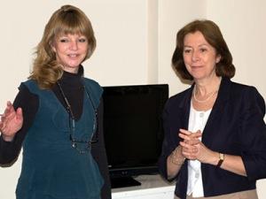 Rosalind Adler and Lea Sellers thumb