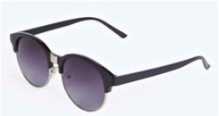 Boohoo lara frame sunglasses