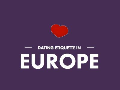 Dating etiquette in europe