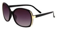 Newlook black hunky glasses